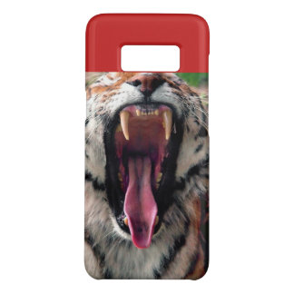 Tigergegähne, Reißzähne, Zunge Case-Mate Samsung Galaxy S8 Hülle