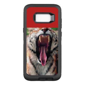 Tigergegähne, Zunge, Reißzähne OtterBox Defender Samsung Galaxy S8+ Hülle