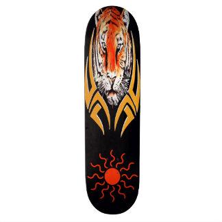 Tigergesichts-Skateboard Personalisierte Skateboarddecks