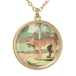 TigerStorybook Vergoldete Kette