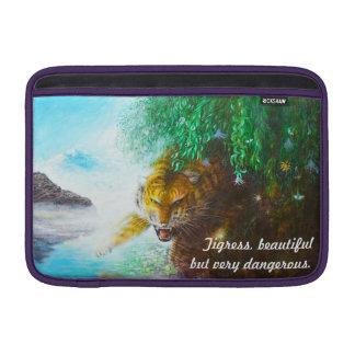 Tigres Hülse - wildes Tier Hülse Sleeve Fürs MacBook Air