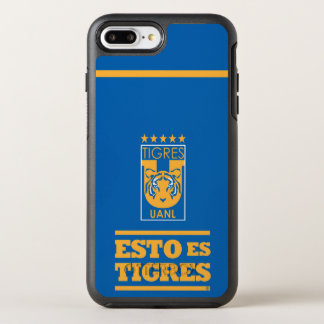 Tigres UANL Team Iphone Fall OtterBox Symmetry iPhone 8 Plus/7 Plus Hülle