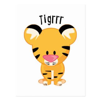Tigrrr Postkarte
