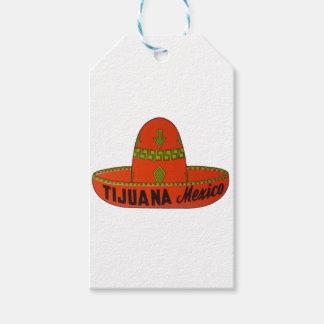 Tijuanasombrero-Reise-Aufkleber Geschenkanhänger