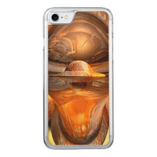 Tiki abstrakt carved iPhone 8/7 hülle