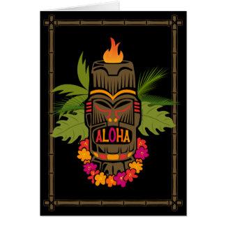 Tiki Aloha Karte