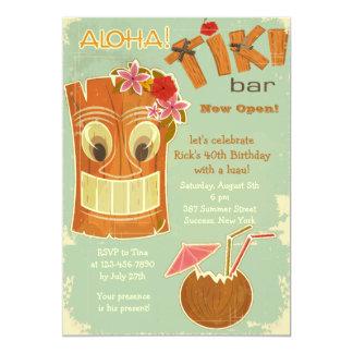 Tiki Bar-Einladung 12,7 X 17,8 Cm Einladungskarte