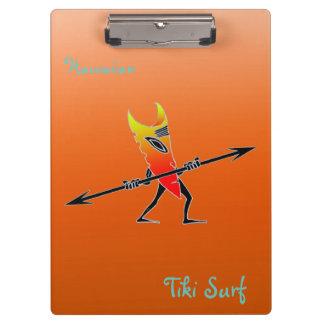 Tiki Surfer rot und gelb