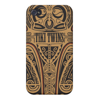 Tiki Zwillinge - Itiki Kriegsverein iPhone 4 Schutzhülle