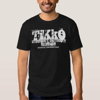 """""""TiKkO: Unterstützung Shirt Detroits HipHop"""""""