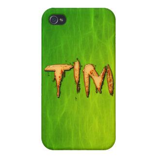 Tim Name eingebrannte iPhone Abdeckung iPhone 4 Case