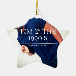 Tim-Schlagzeuger Keramik Ornament