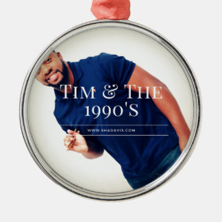 Tim-Schlagzeuger Silbernes Ornament