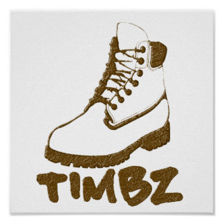 Timbz Stiefel-Plakat Poster