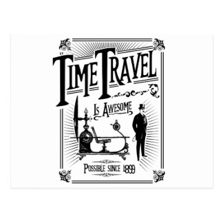 Time Travel is awesome Postkarte