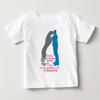 Time with your Dane Baby T-shirt