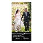 Timeless Chic-Hochzeit danken Ihnen die drei Foto-