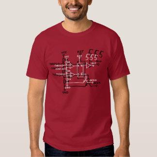 Timer-Chip-schematischer Stromkreis des Shirt