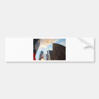 Times Square und das Paramount-Gebäude Autoaufkleber