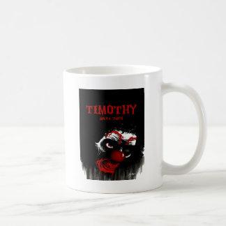 Timothy durch Kennzeichen Tufo Kaffeetasse