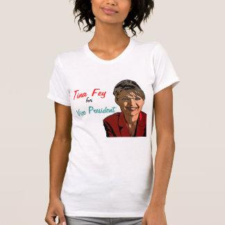 Tina schrullig für Vizepräsidenten! Hemd