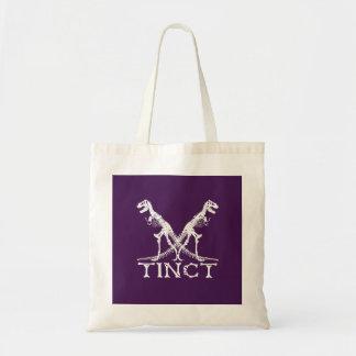tinct x Dinosaurier-Skelett lustig Tragetasche