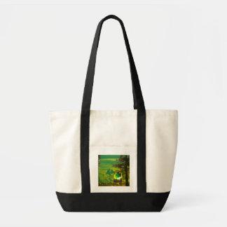 Tink green bag without text tragetasche