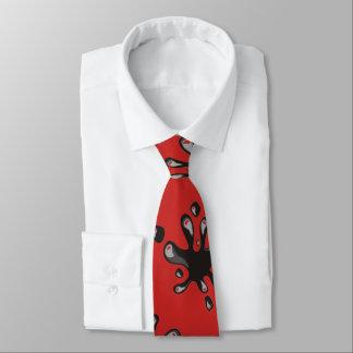 Tinte platsch krawatte