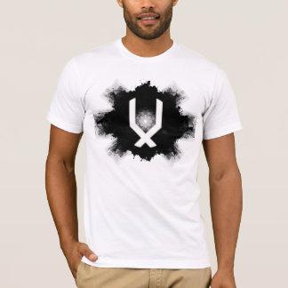 Tinten-Fleck-Logo-T-Stück T-Shirt