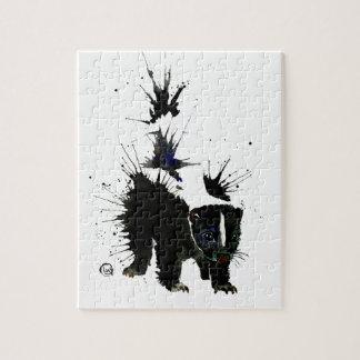 Tinten-Fleck Puzzle