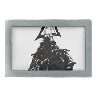 Tinten-Samurais 1 Rechteckige Gürtelschnallen