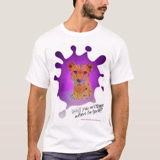 Tintenfleck Gepard * verfehlen Sie mich, wenn ich T-Shirt