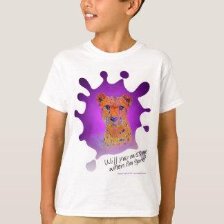 Tintenfleck Gepard Z T-Shirt