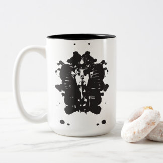 Tintenkleks-Pharao Zweifarbige Tasse