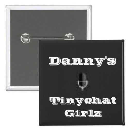 Tinychat Girlz Button