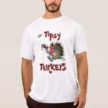 Tipsy die Türkei-T-Stück Tshirt