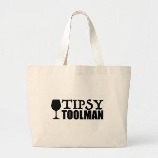 Tipsy Toolman Jumbo Stoffbeutel