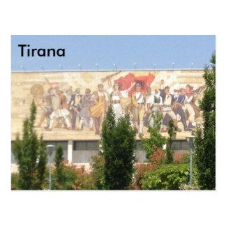 Tirana Postkarte