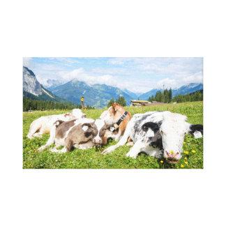 Tirol, Österreich Leinwanddruck