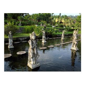 Tirtaganga Wasserpalast Bali Postkarte