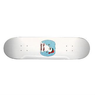 Tis der Jahreszeit-Schneemann 20,6 Cm Skateboard Deck