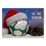 Tis die (Fußball-) Jahreszeit Grußkarten