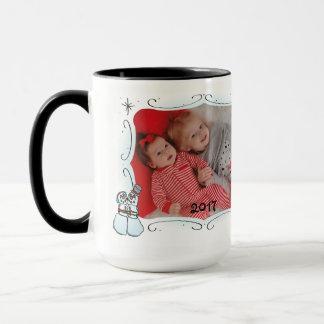 'Tis die Jahreszeit-Foto-Tasse Tasse