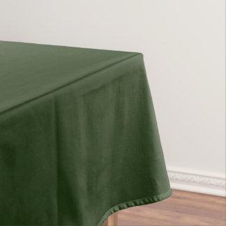 Tischdecke-uni grünes Medium Tischdecke