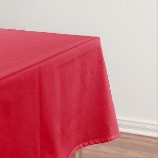 Tischdecke-uni rotes Medium Tischdecke
