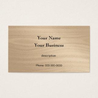 Tischler-Bau-Heimwerker-Holz-Korn Visitenkarte
