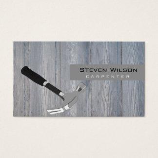 Tischler-Holzbearbeitungs-berufliches hölzernes Visitenkarte