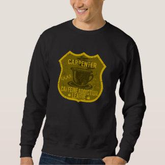 Tischler-Koffein-Sucht-Liga Sweatshirt