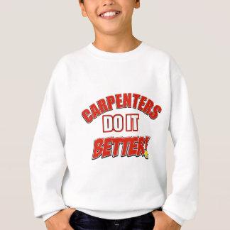 Tischler verbessert es sweatshirt