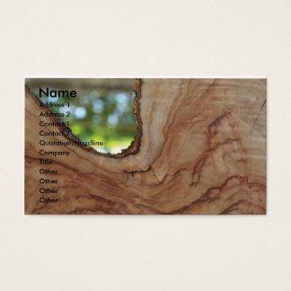 Tischler Visitenkarte